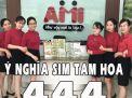 TẤT TẦN TẬT VỀ Ý NGHĨA SIM TAM HOA 444 – NÊN MUA SIM TAM HOA 444